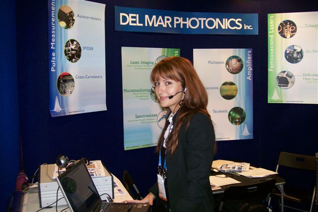 Femtosecond laser products from Del Mar Photonics