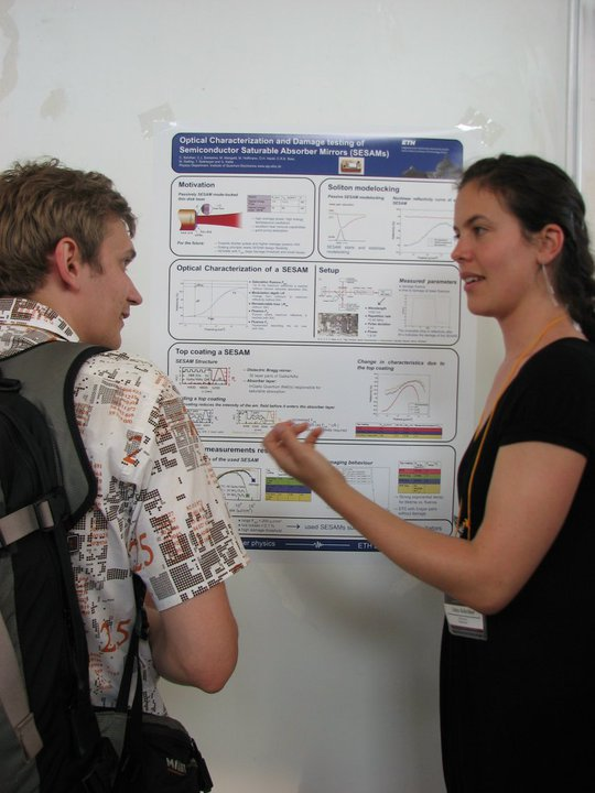 best talk and best poster awards at ions