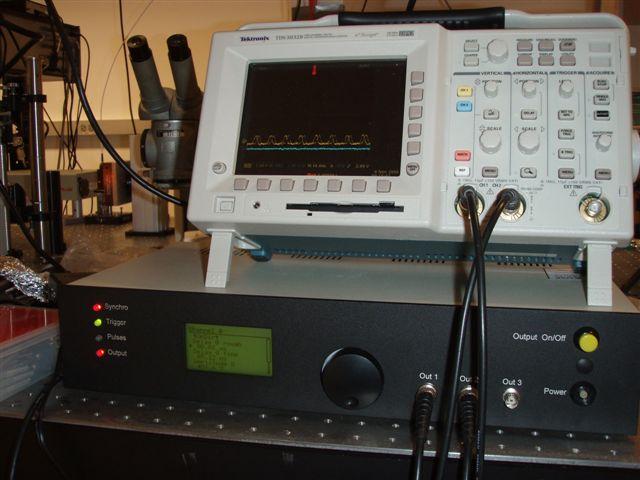 Del Mar Photonics Pismo pulse picker Control and supply unit